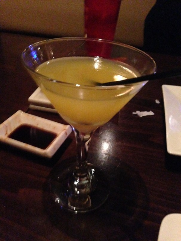 Edie's martini.