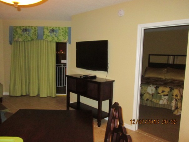 Living room tv, master bedroom.