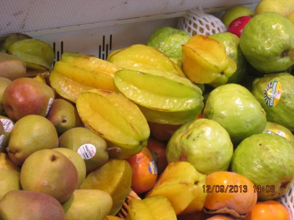 It has been awhile since we have seen star fruit in the grocery store.
