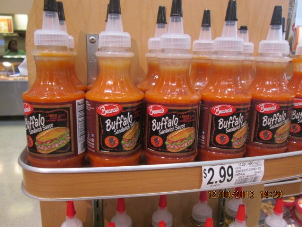 They love their sauces here.