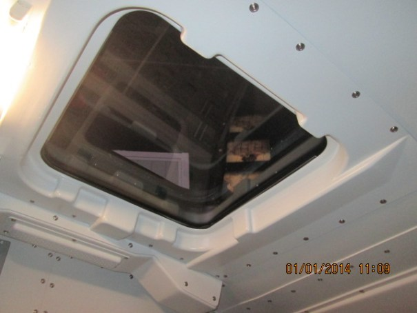 I though the windows were generous on the shuttle mock up.
