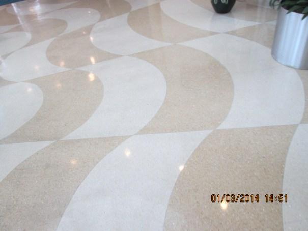 Artful flooring.