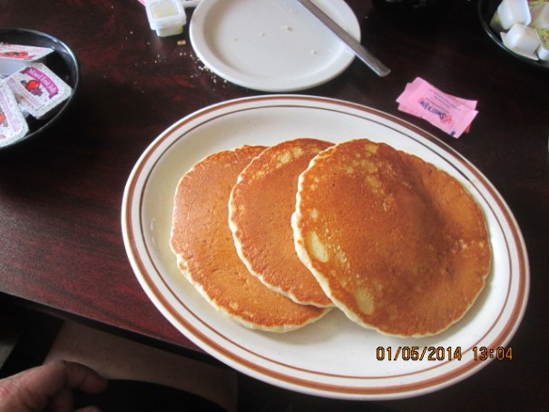I went gout safe and got pancakes.