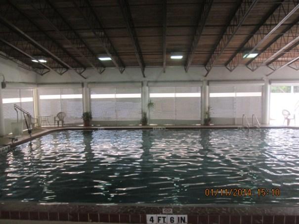 Indoor pool.
