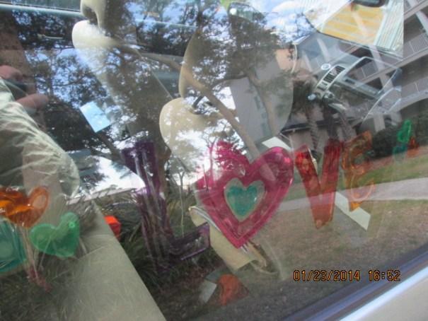 The window art.