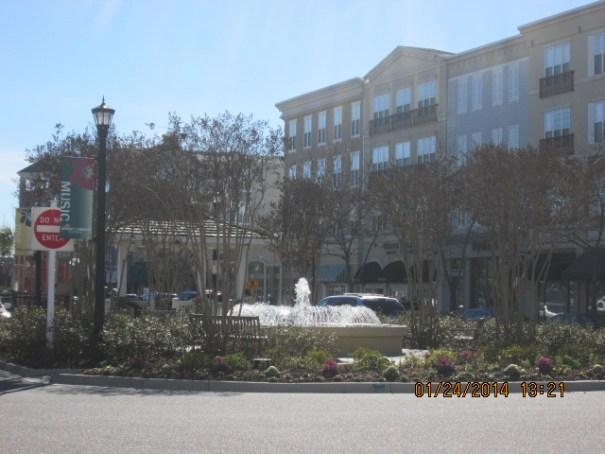 Nice fountain.