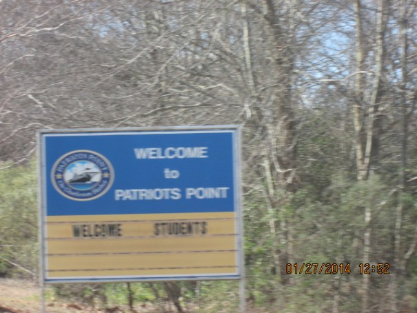 Ferries leave from Charleston and Patriots Point.  We used the Patriots Point Ferry.