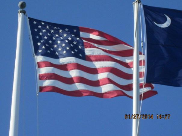 I think modern day flag.