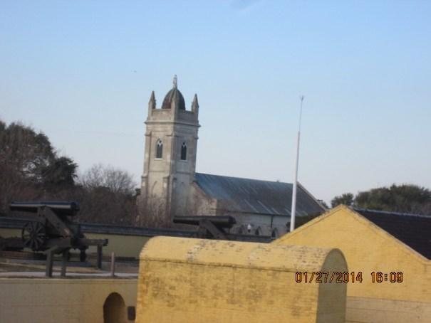 A beautiful church near the Fort.