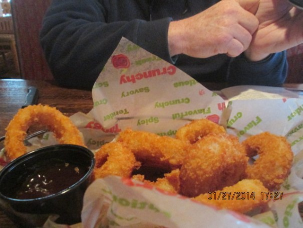 Our onion rings.