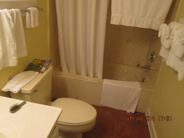 1st floor bathroom with jetted tub.