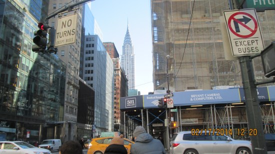 We thought the Chrysler building was the empire state building.