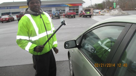 This fellow tells me you cannot pump your own gas in New Jersey.  Just like Oregon!