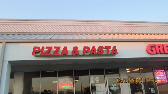 Unassuming, in a strip mall, good food.