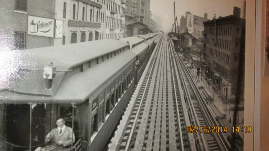 The high line when it ran trains.