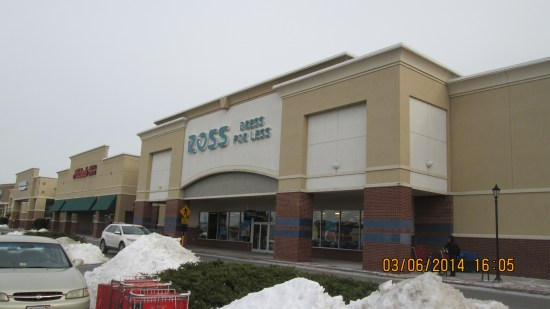 Ross.  We usually try to hit it on a Tuesday for the 10% old guy discount.