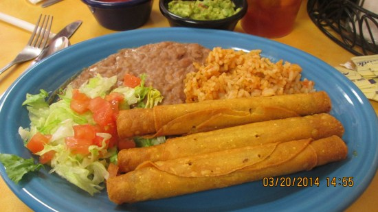 Edie's flautas, we call them tosquitos at home.