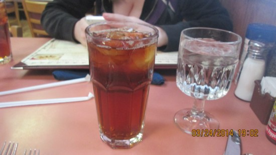 Edie and Lex were brave and tried the prickly pear tea.  I took a taste and was glad I stuck with water.