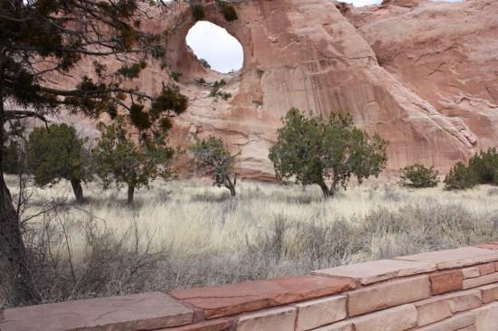 Pretty desert grounds.