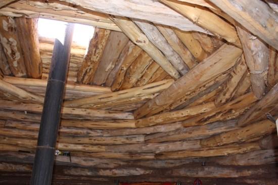 Interior ceiling.