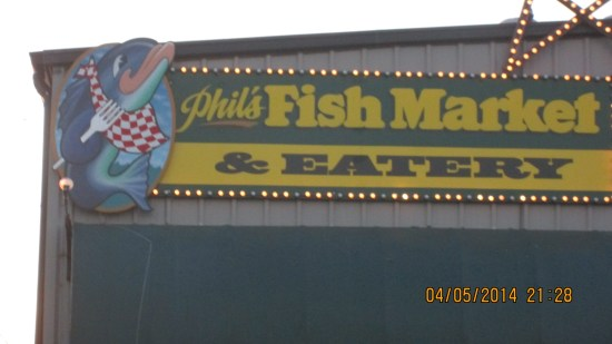 I've decided if a fish place is associated with a working harbor and fish market, it is worth a try!