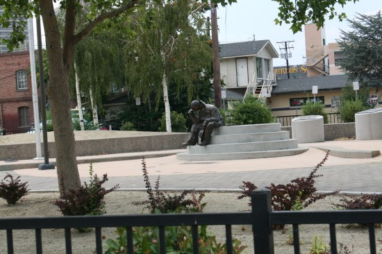 City park in Sparks with their own thinker.