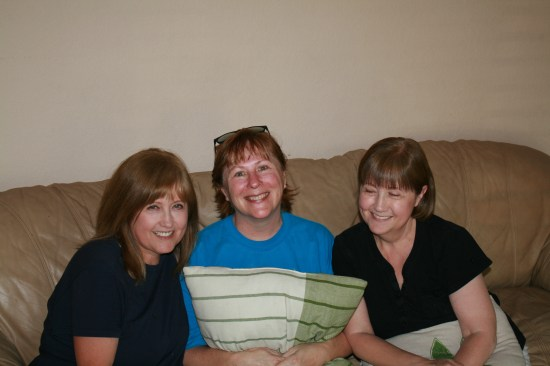 Best friends since 1st grade!  Carolyn, Edie and Marilyn.