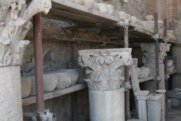 Looks like a basket from Corinth...Corinthian Capital.