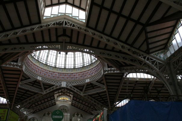 Beautiful skylights and dome...