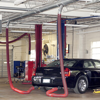 large vehicle exhaust extraction