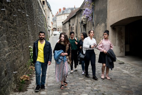 Jour 1 Nevers - Reportages rue : Acceuil des Migrants - 25 Avril 2018