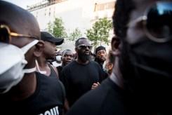 PARIS – 2 JUIN 2020: rassemblement devant le TGI de Paris pour demander la justice pour Adama Traoré.