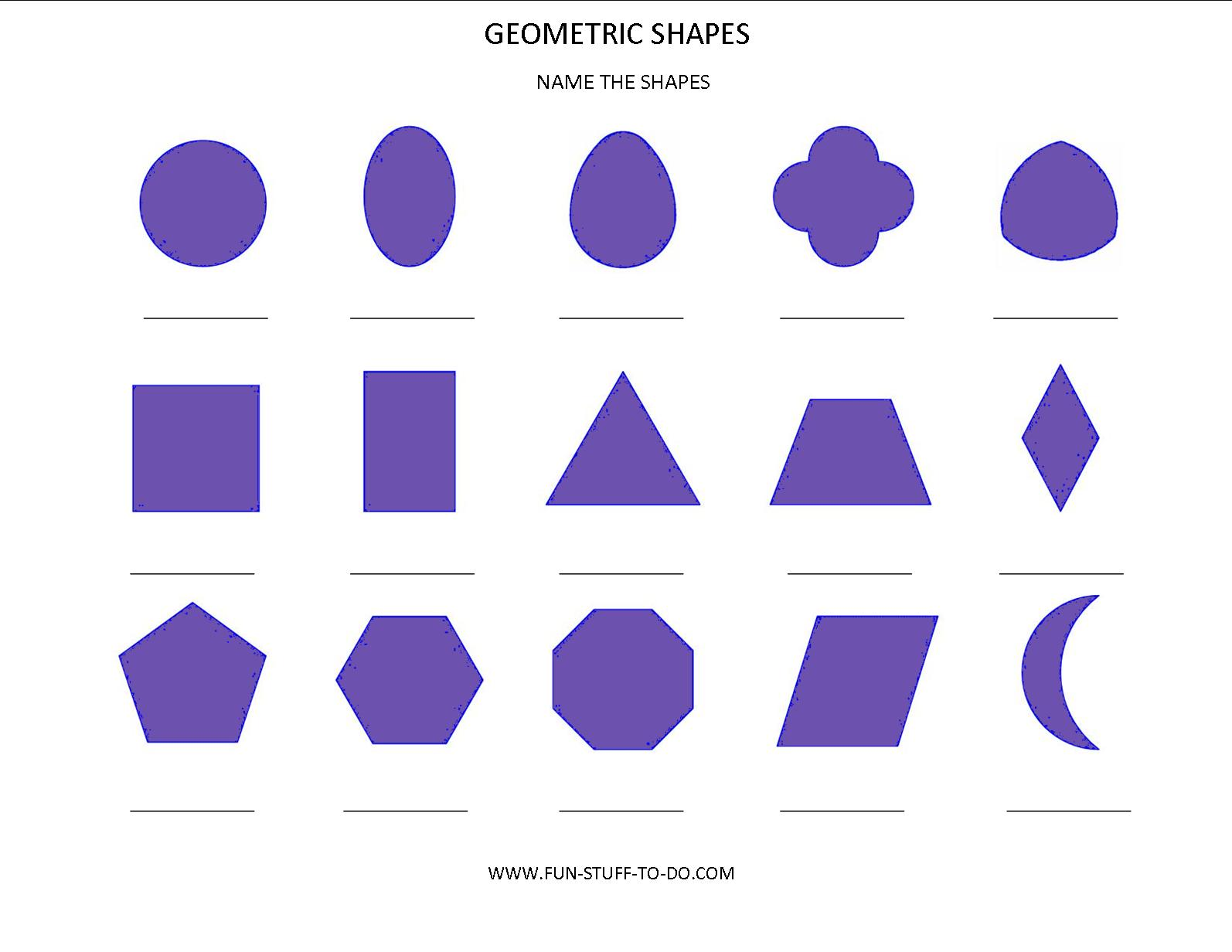 Patterns For Geometric Shapes Design Patterns