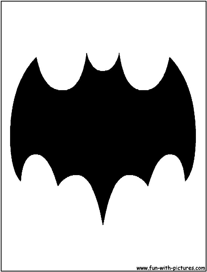 batman bat 1966a silhouette