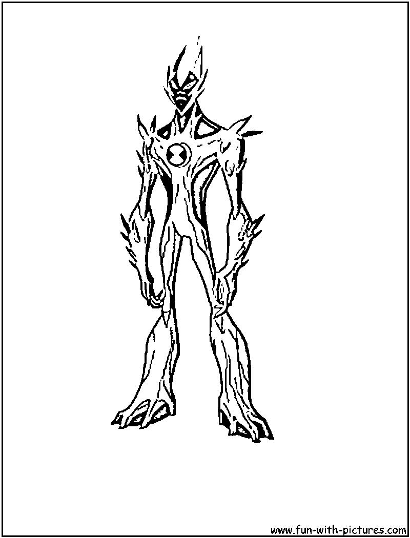 ben 10 coloring pages waybig para - Ben Ten Alien Force Coloring Pages