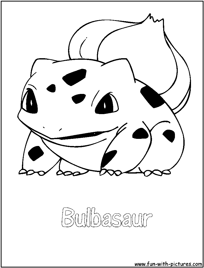 bulbasaur coloring page png