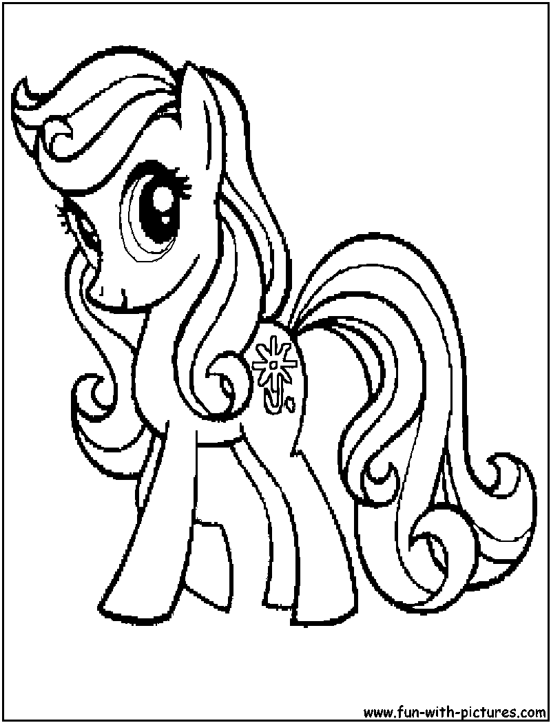 Daisydreams Coloring Page