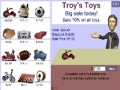 Troys Toys - Percentages
