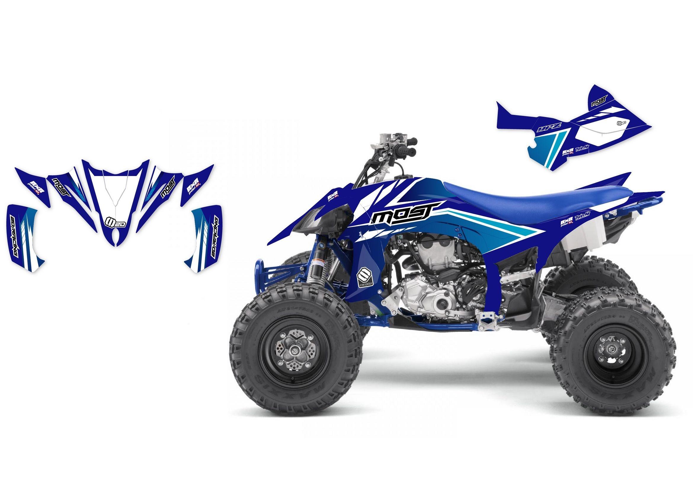 personnalisez votre 350 raptor avec nos kits deco kit deco complet quad yamaha most 350 raptor 04 13 de 5 a 12 de r