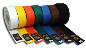 cinture colorate
