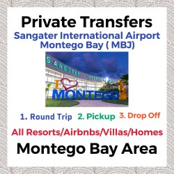 Private Transfer From Sangster International Airport Montego Bay to All Resorts, Villas, AirBnbs & Homes in Montego Bay Area
