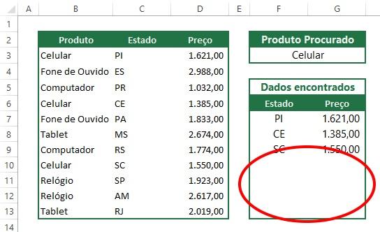 Procv com dads repetidos8