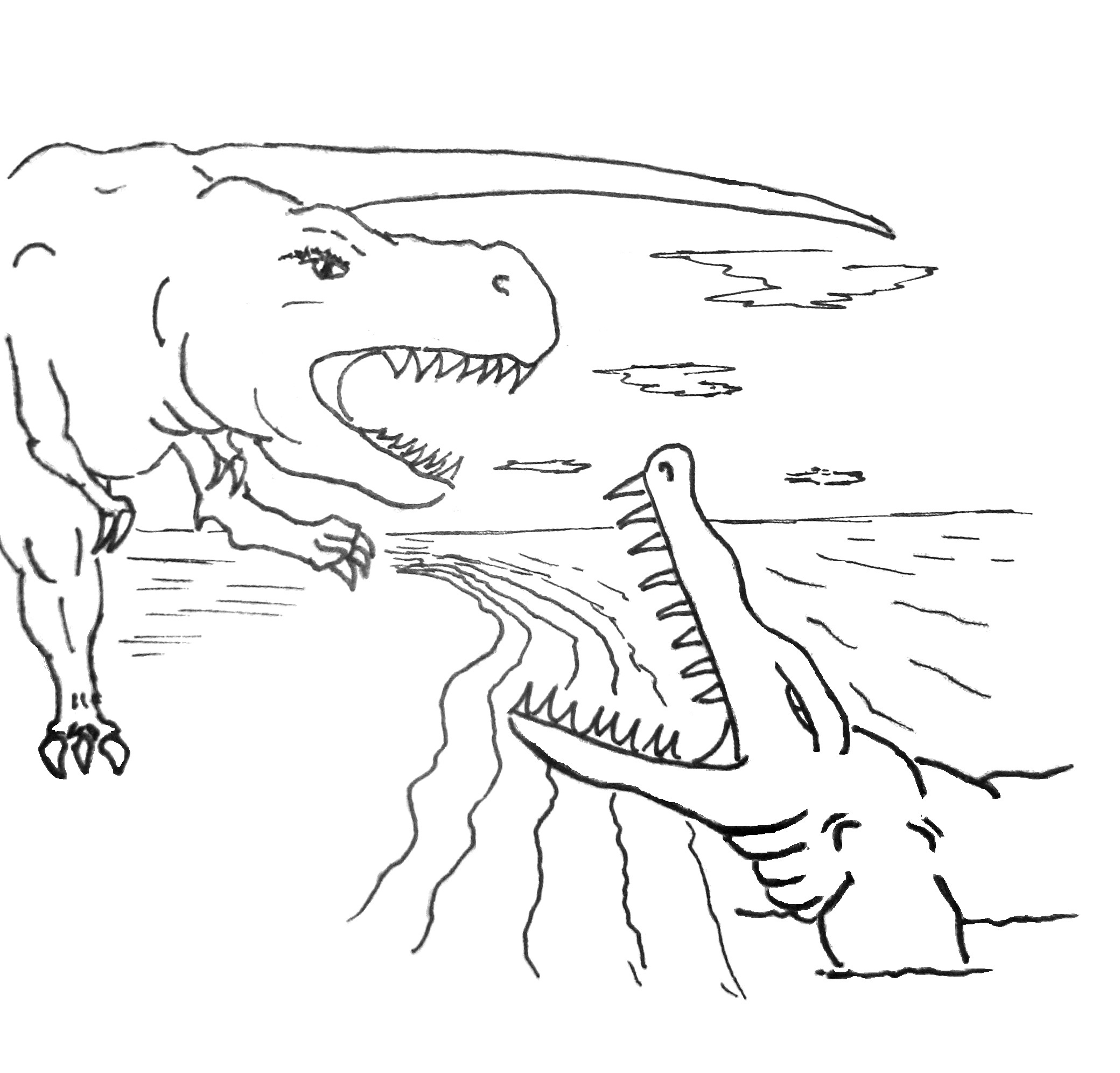 crocodile coloring pages cooloring com