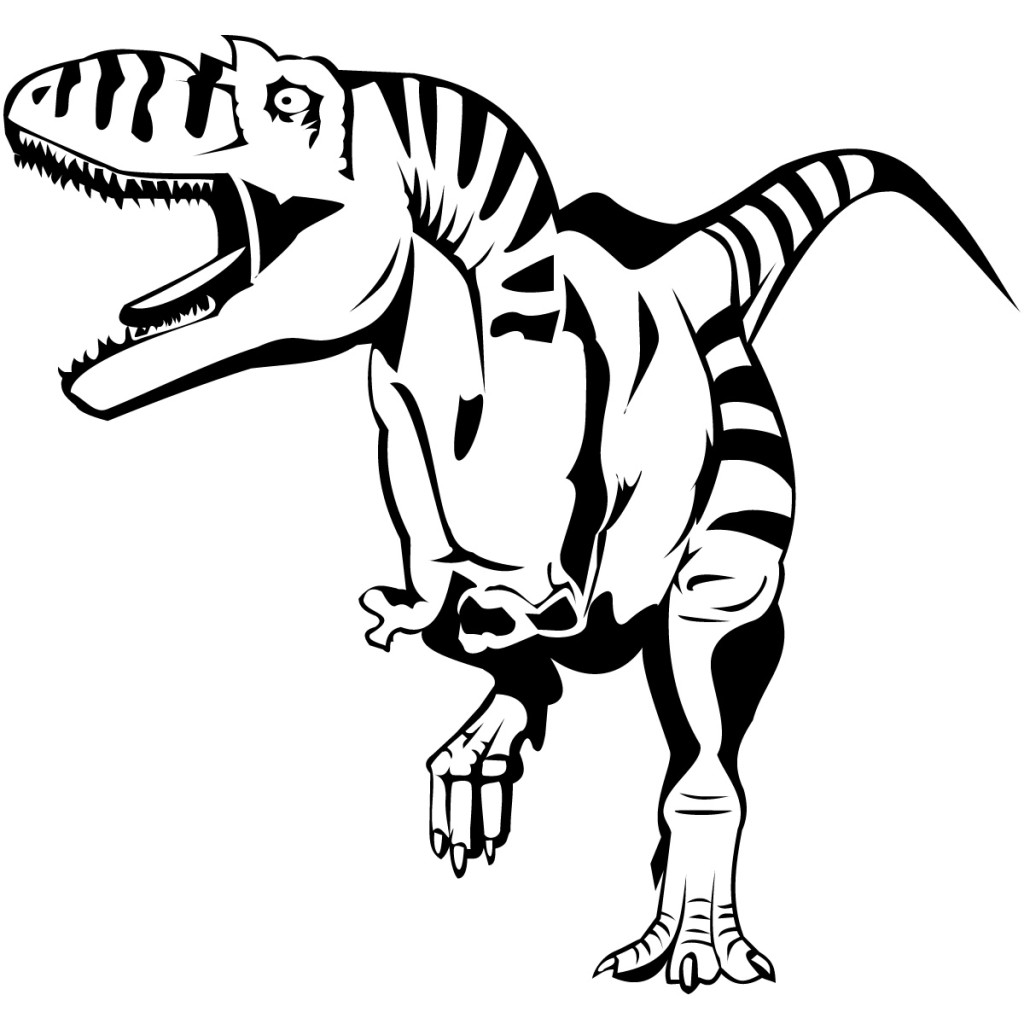print out dinosaur coloring pages cooloring com