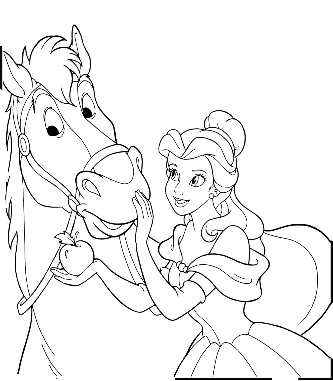 30 Printable Horse Coloring Pages