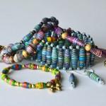 Paper Beads Mix of Bracelets