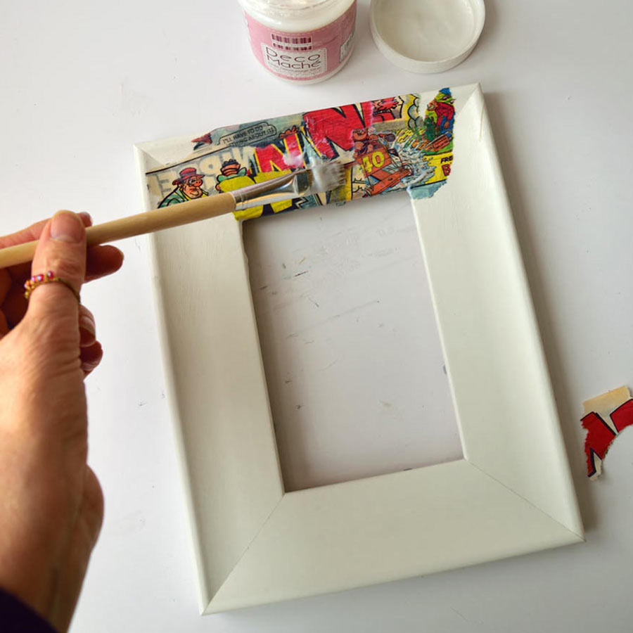Decoupage Picture Frame \u2013 Fun Crafts To Do At Home