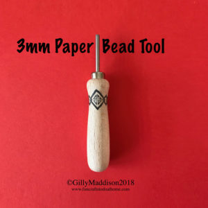 how to make round paper beads