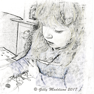 turning photos into sketches