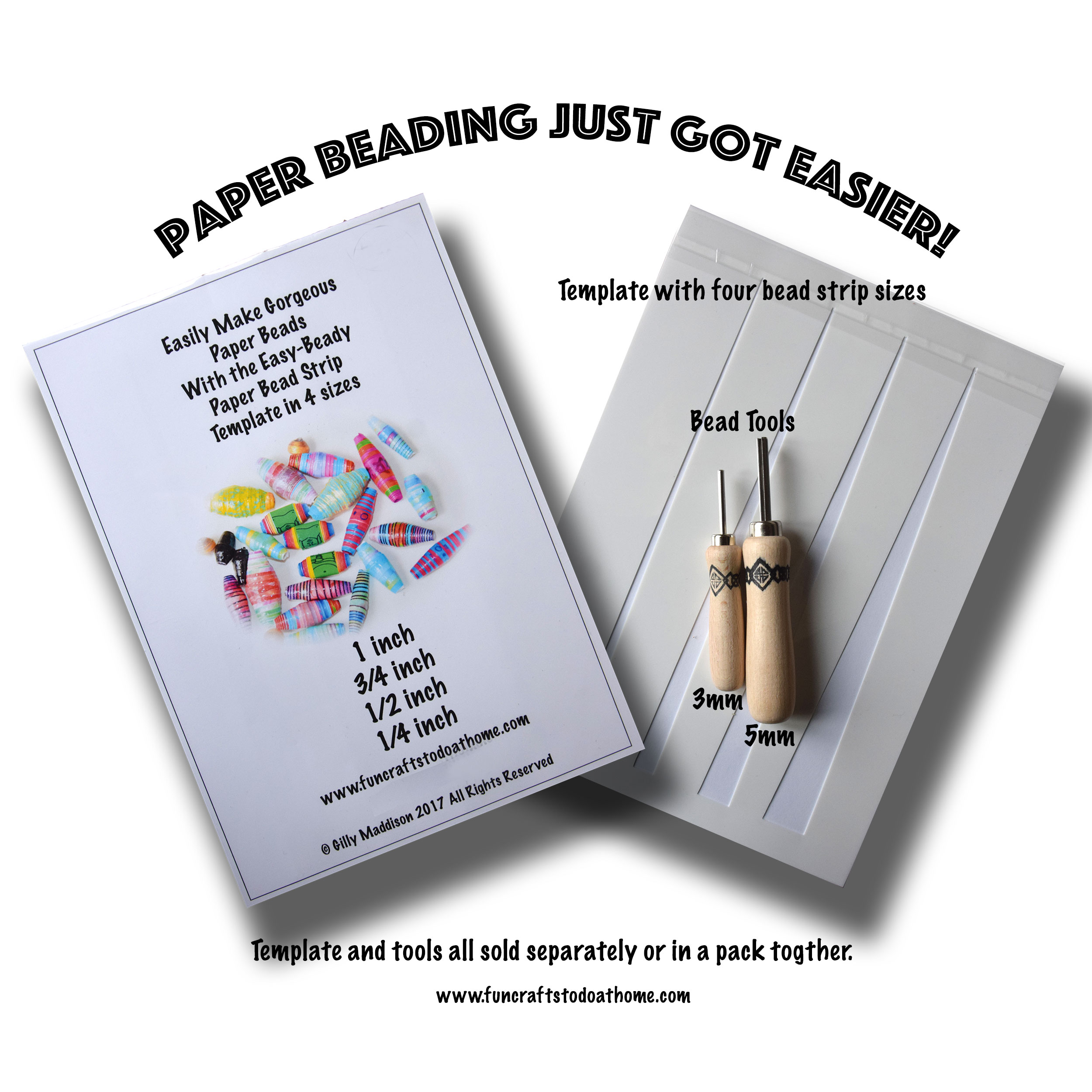 Paper Bead Templates and Tools – Save Time And Money With This Paper Bead Making Kit